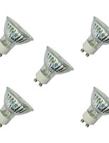 3W Spot LED MR16 60 SMD 3528 280-320 lm Blanc Chaud Blanc V 5 pièces