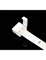 5 шт. 2-контактный паяный разъем для 10 мм 5050 одноцветных водонепроницаемых светодиодных полосок