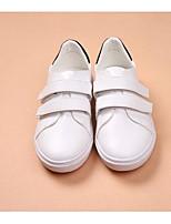 Women's Sneakers Comfort PU Spring Casual Comfort White Flat