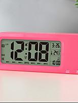 Digital Pástico Despertador,LED