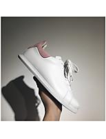 Women's Sneakers Novelty Cowhide Athletic Flat Heel