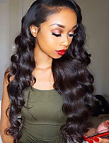 130% Density Brazilian Body Wave Full Lace Human Hair Lace Wigs with Natural Hairline 100% Human Hair 8''-26'' Glueless Full Lace Wigs with Baby Hair