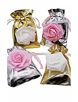 20pcs 9X13cm Jewelry Bag Organza Gift Bag Wedding Decoration Candy Pouch Bag Candy Box Gift Box Party Decoration