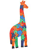Пазлы Набор для творчества Строительные блоки Игрушки своими руками Животный принт