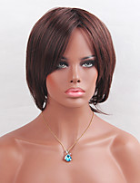 MAYSU Selling Chestnut Natural wave BOBO Synthetic   Wig