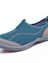 Men's Sneakers Comfort Tulle Summer Outdoor Comfort Flat Heel Ruby Green Blue Under 1in