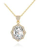 בגדי ריקוד נשים שרשראות תליון תכשיטים תכשיטים פנינה סגסוגת עיצוב מיוחד אופנתי Euramerican תכשיטים עבורחתונה Party יום הולדת מסיבה\אירוע