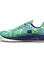 Men's Sneakers Comfort Rubber Leatherette Spring Casual Light Purple Green Blue Flat