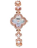 Women's Fashion Watch Quartz Alloy Band Sparkle Charm Rose Gold