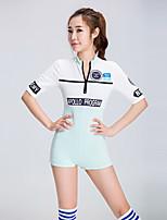 Devemos vestidos de líder de torcida leotards feminino de futebol feminino de menina