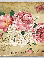 Oil Paintings Floral Style Canvas Material With Wooden Stretcher Ready To Hang Size70*70CM .