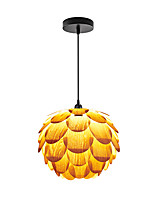 D-02M  Modern LightsLayered Wood Artichoke Ceiling Pendant Light /Not Included Light Bulb