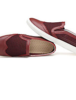 Men's Sneakers Comfort Tulle Spring Casual Black Navy Blue Burgundy Flat
