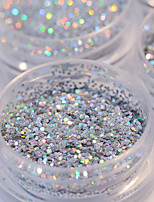 5box*2g Nail Polish Powder Sequins Blend