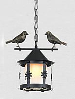 Lampe suspendue ,  Contemporain Traditionnel/Classique Peintures Fonctionnalité MétalSalle de séjour Chambre à coucher Salle à manger