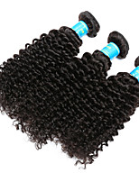 Vinsteen Brazilian Kinky Curly Hair Weave 3 Bundles Virgin Human Hair Extensions Natural Human Hair Weave Unprocessed Human Hair Curly Weave