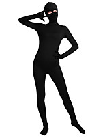 Unisex Lycra Spandex Unitard Full Body Long Sleeves Full Foot Full Fingers Elastane Bodysuit Costume
