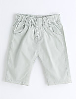 Boys' Solid Shorts-Cotton Summer