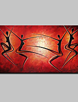 Large Hand Painted Abstract Dance Oil Painting On Canvas Wall Art Picture For Home Decoration Ready To Hang