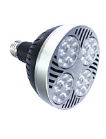 1PCS  E27 25W LED PAR30 Lights  Power Lights 1300-1500 lm Warm White /White  220V
