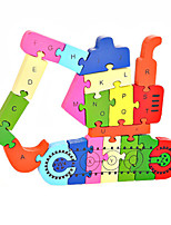 Jigsaw Puzzles DIY KIT Building Blocks DIY Toys Excavating Machinery Wooden
