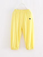 Para Meninas Calças Fashion Verão Outros