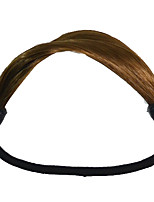 2 Pieces Hair Tie Plastic Hair Ponytail Hair Tools Medium Brown