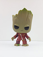 Guardians of the galaxy groot Anime Action Figures Inspired by Cosplay Cosplay PVC 10 CM Model Toys Doll Toy 1pc