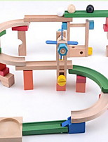 Building Blocks Track Sets For Gift  Building Blocks Wood 2 to 4 Years 5 to 7 Years 8 to 13 Years Toys