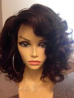 Новый парик человеческих волос человека краткости bob высокого качества 100% бразильский человеческий волос шнурует фронт парики с