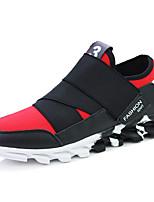 Для мужчин Кеды Удобная обувь Оригинальная обувь Тюль Лето Осень Для прогулок Для офиса Повседневный Для занятий спортом Для прогулокНа