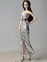 Robes Habillé Pour Poupée Barbie Robe Pour Fille de Jouets DIY