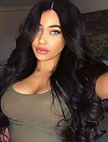 New Fashion Brazilian Virgin Hair Glueless Lace Wigs Loose Wave 150% Density Lace Front Human Hair Wigs Virgin Hair Wig for Woman