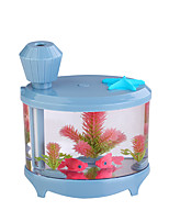 WT-YG001 USB Aquarium Humidifier Fountain Atomizing Humidifier Night Light