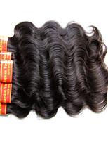 Onda de corpo de cabelo virgem malaysian 300grams 6bundles muito para uma cabeça qualidade de qualidade 7a 100% máquina de cabelo humano