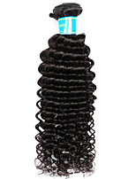 Vinsteen Brazilian Deep Wave Human Hair Bundles 100% Virgin Human Hair Extensions 8-16inch 1 Pcs Cheap Brazilian Human Hair Weave