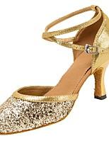 Glitter Shinning Women's Latin Dance Shoes Heels Modern Ballroom/Salsa/Tango Dancing Shoes Soft Sole Customizable