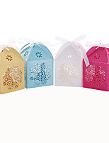 50pcs Lace Flower Wedding Favors Box Candy Box Party Favors Gift Box Wedding Party Decoration