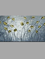 Hand Painted Thick Knife Flower Oil Paintings On Canvas With Stretched Frame Ready To Hang