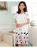 Women's Babydoll & Slips Nightwear Pattern-Thin
