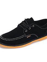 Da uomo Sneakers Scamosciato Primavera Nero Marrone Blu marino Piatto