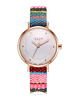 Women's Fashion Watch Quartz Water Resistant / Water Proof Genuine Leather Band Bohemian Casual Multi-Colored
