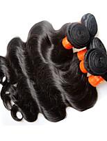 O atacado do corpo de cabelo da Malásia acumula 1kg 10pieces muito barato 8a malaysian remy extensões de cabelo humano tece cor natural e