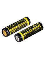 2PCS XTAR 14500 800mAh 3.7V 2.96Wh Li-ion Rechargeable Battery