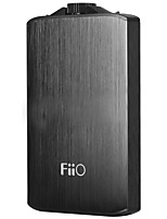 Fiio a3 amplificador de fone de ouvido portátil liga de alumínio 20hz-20khz amp micro usb interface-preto