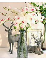 1 Филиал Шелк Орхидеи Букеты на стол Искусственные Цветы