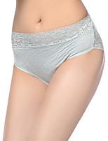 Femme Sportif Solide Sous-vêtements Moulants Slips