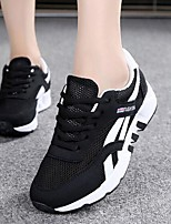Women's Sneakers Comfort Canvas Tulle Spring Casual Blushing Pink Green Black Flat