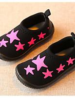 Девочки На плокой подошве Обувь для малышей Ткань Весна Осень Повседневные Для прогулок Обувь для малышей На липучках На низком каблуке