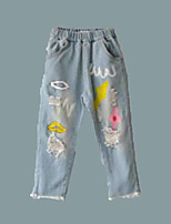 Girls' Casual/Daily Holiday Solid Pants-Others Summer Fall